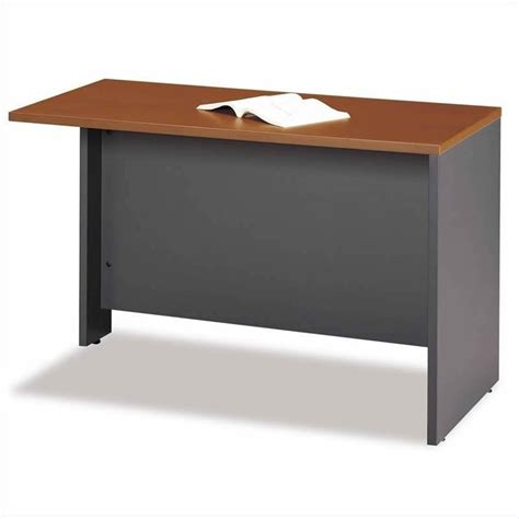 Corner Desk Maple Bush Business Series C 4 Right Corner Desk In Auburn Maple Bsc057 485