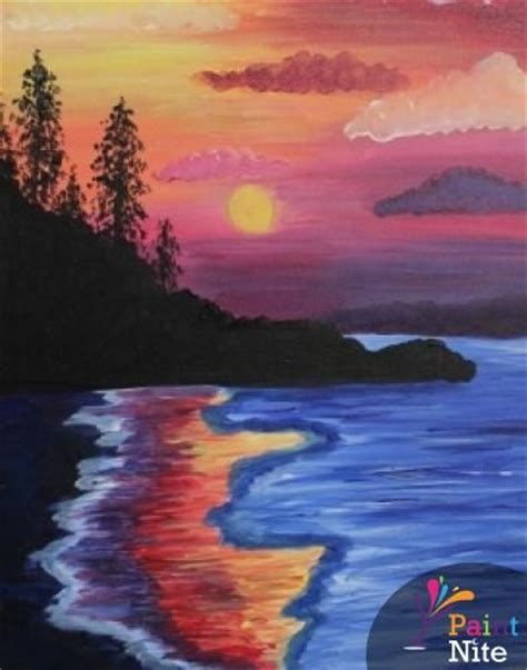 paint nite boston pizza bowmanville 69 best paint nite paintings images on