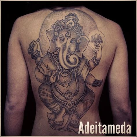 ganesh elephant tattoo meaning lord ganesha dancing tattoo by him pinterest