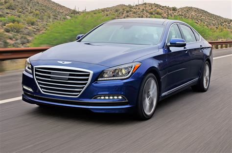 2015 hyundai genesis sedan drive photo gallery