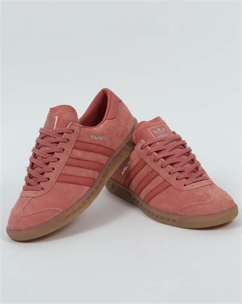 adidas hamburg trainers pink originals shoes mens sneakers