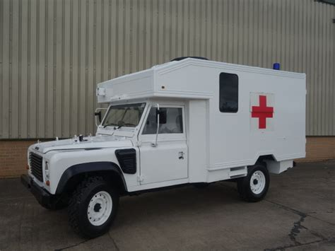 land rover wolf ambulance land rover 130 defender wolf rhd ambulance ex for