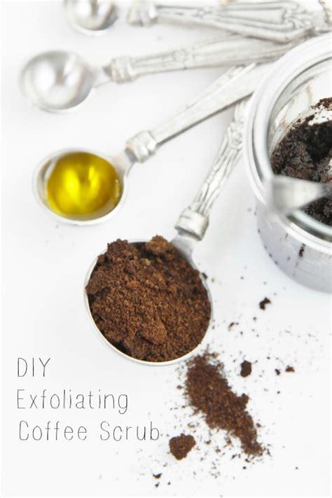 DIY Exfoliating Coffee Scrub   bell' alimento   bell' alimento