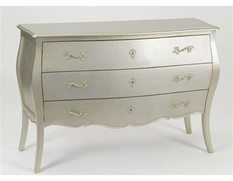 Commode Amadeus by Grande Commode Argent Baroque