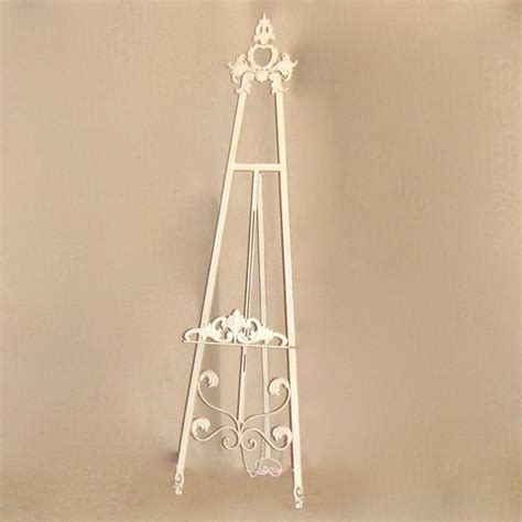 cream french provincial shabby chic display easel