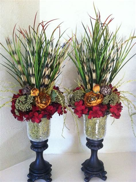 Faux Floral Centerpieces The Colors For Bedroom Nightstand Dresser