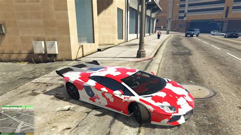 red camo lamborghini red camo lamborghini pictures to pin on pinterest pinsdaddy