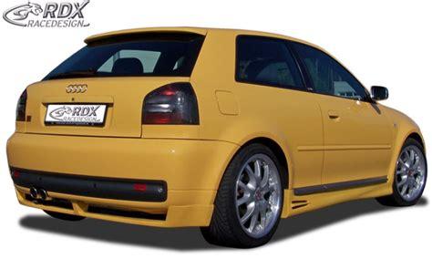 Audi S3 8l Spoiler by Gt4 Heckansatz F 252 R Audi S3 8l Spoiler Shop
