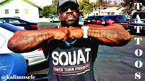 kali muscle my tattoos youtube