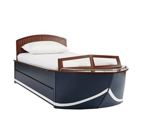 toddler boat bed vintage cruiser bedroom set pottery barn kids