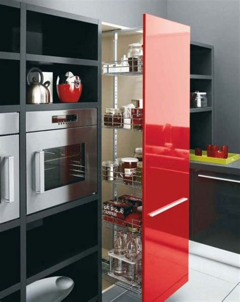 Design Kitchen Furniture I Want One Of These Pull Out Pantry Things Like Rachael