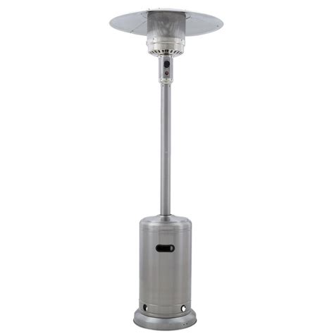 propane outdoor patio heaters gardensun 41 000 btu stainless steel propane patio heater