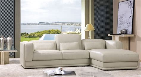 Real Leather Sectional Sofa by Modern Sectional L Shape Genuine Real Leather Sofa Top