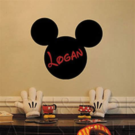 wall decals online kids custom wall vinyl cheap wall mickey mouse ears custom kids personalized name vinyl wall