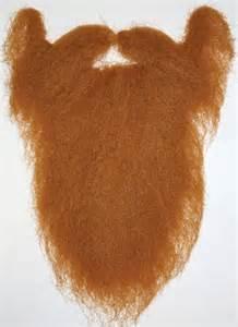 large ginger fake beard for lumberjacks fancy dress disguise