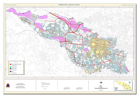 san jose neighborhood map the san jose metropolitan area in 2000