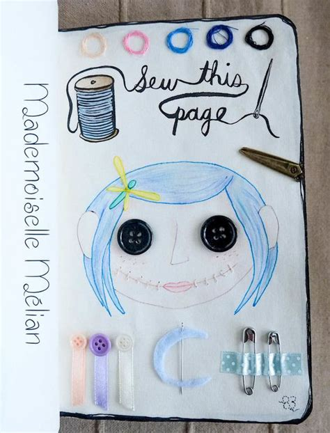themes in coraline book wreck this journal saccage ce carnet page 83 sew this