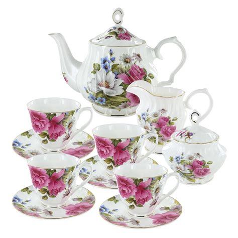grace s rose bone china tea set