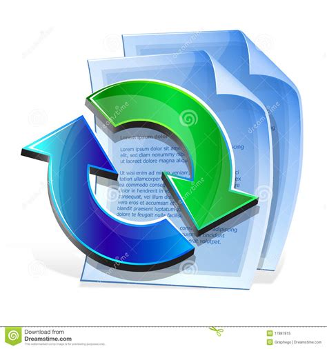 icon format converter document format conversion from one to another stock