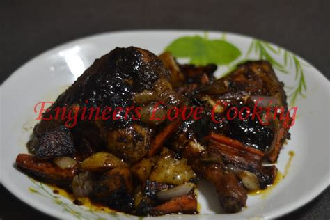 Ayam Bakar Madu 1 engineers cooking ayam panggang madu berempah menggunakan pemanggang ajaib spicy honey