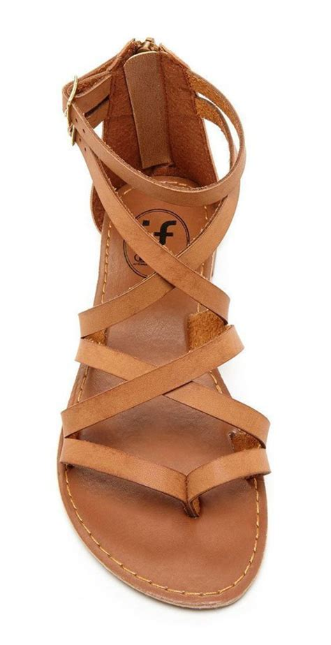 strappy brown sandals shoes sandals brown sandals summer shoes