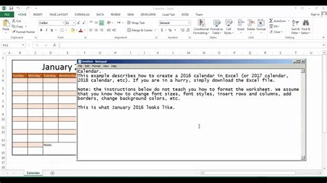 make excel calendar excel calendar how to create auto calendar for each year