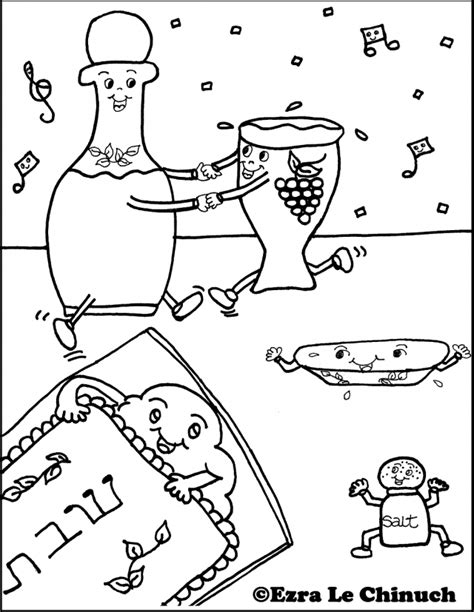 Shabbat Coloring Pages Coloring Home Shabbat Coloring Pages