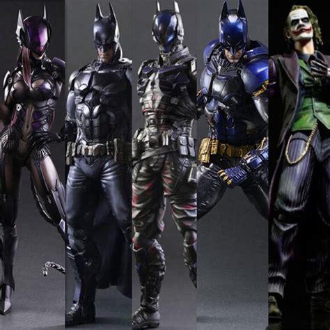 Ng173 Batman Arkham Play Arts Arkham batman figure play arts arkham joker toys pvc 270mm anime model bat