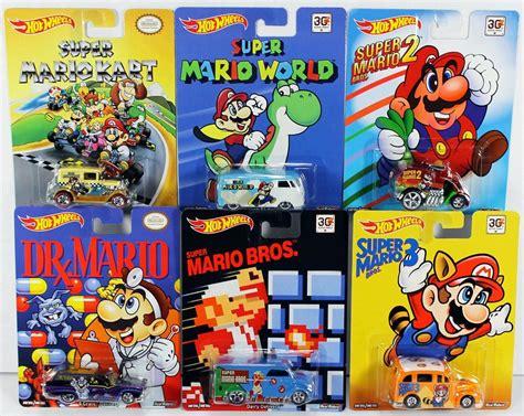 super mario hot wheels cars hot wheels super mario brothers super mario