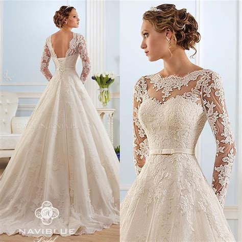 White Lien Wedding Dresses by 2018 New Vintage Lace Wedding Dresses A Line V