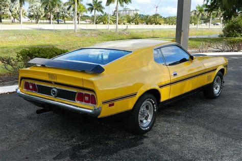 1973 ford mustang sportsroof fastback mach 1 burnt orange for sale used cars for sale 1973 ford mustang mach 1 fastback 184393