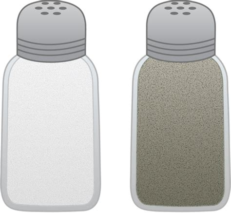 how to go from salt and pepper to all white hair salt and pepper shakers free clip art