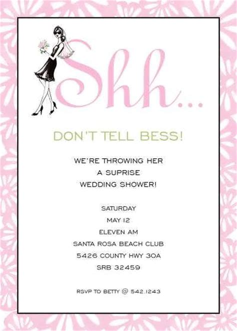 bridal shower invitations wording etiquette wedding shower invitation wording sles yaseen for