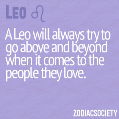 leo characteristics quotes about leo personalitys quotesgram