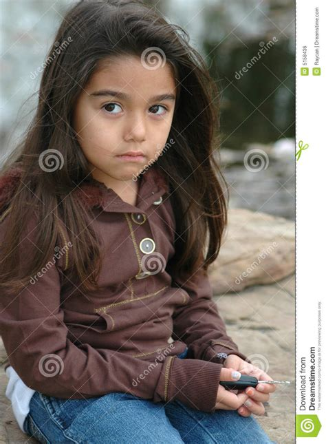 imagenes de niña triste ni 241 a triste imagen de archivo libre de regal 237 as imagen