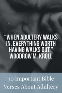 important bible verses  adultery  major