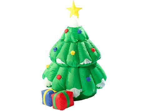 infactory selbstaufblasender xxl weihnachtsbaum mit