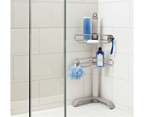 bathtub corner caddy the simplehuman corrosion resistant stainless steel corner