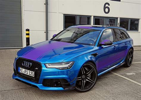 Audi A6 Abt Tuning by Fotos Audi Tuning Kombi 2016 Abt Rs 6 Avant 4g C7 Blau Autos