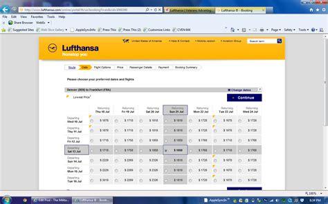 lufthansa flights  military frequent flyer