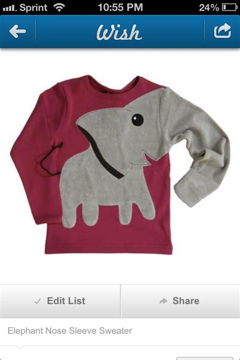 Elephant Sweater elephant sweatshirt colourinblackandwhite