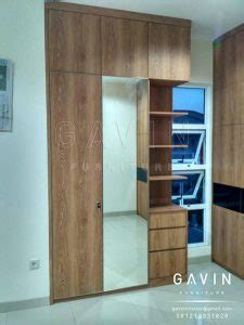 Multiplek Finishing Hpl lemari baju minimalis dan buffet project di green lake kitchen set jakarta