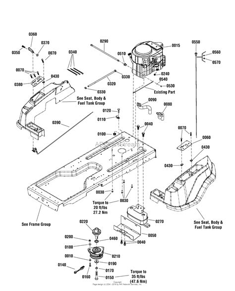 kawasaki lawn mower engine parts diagrams simplicity 2691140 01 zt21546 21 5 gross hp kawasaki