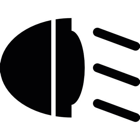 Licht Auto Symbole by Car Light Free Transport Icons