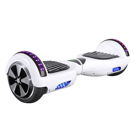 hoverboard blinking green light 8 inch smart balance wheel with bluetooth speaker green