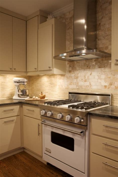 kitchen backsplash ideas with cream cabinets cream cabinets contemporary kitchen heather garrett