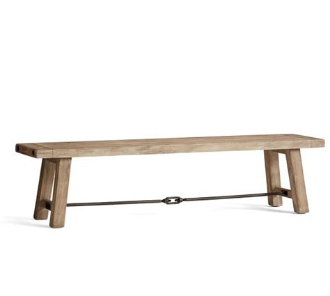 benchwright bench benchwright dining bench pottery barn