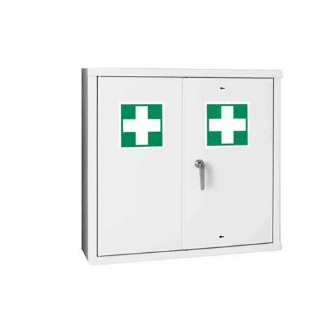 large first aid cabinet first aid wall cabinet 800 x 800 x 260 3d lockers