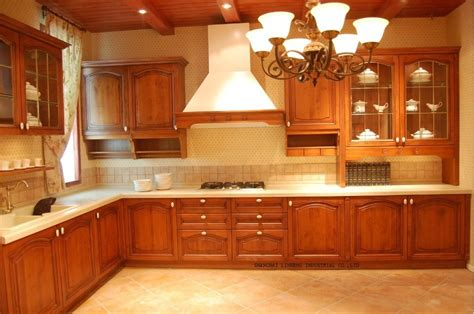 real wood kitchen cabinets mould cherry solid wood kitchen cabinet lh sw057 on