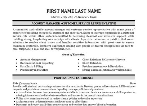 property and casualty insurance property and casualty insurance resume